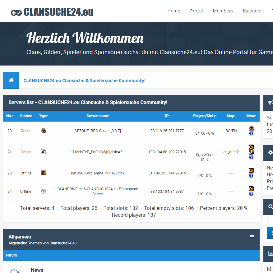 CLANSUCHE24.eu